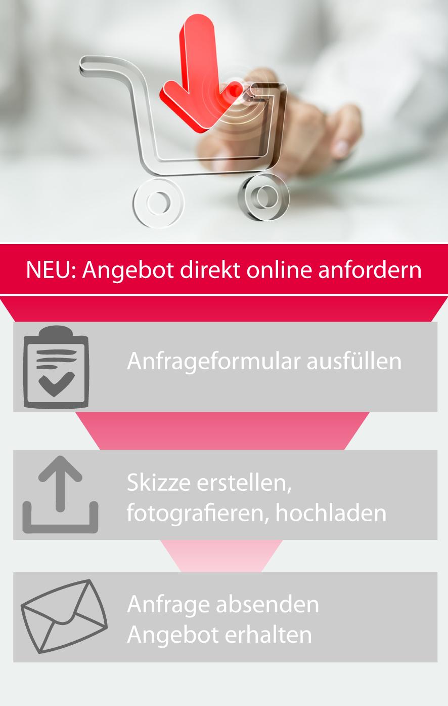 Online-Angebot-anfordern Angebot